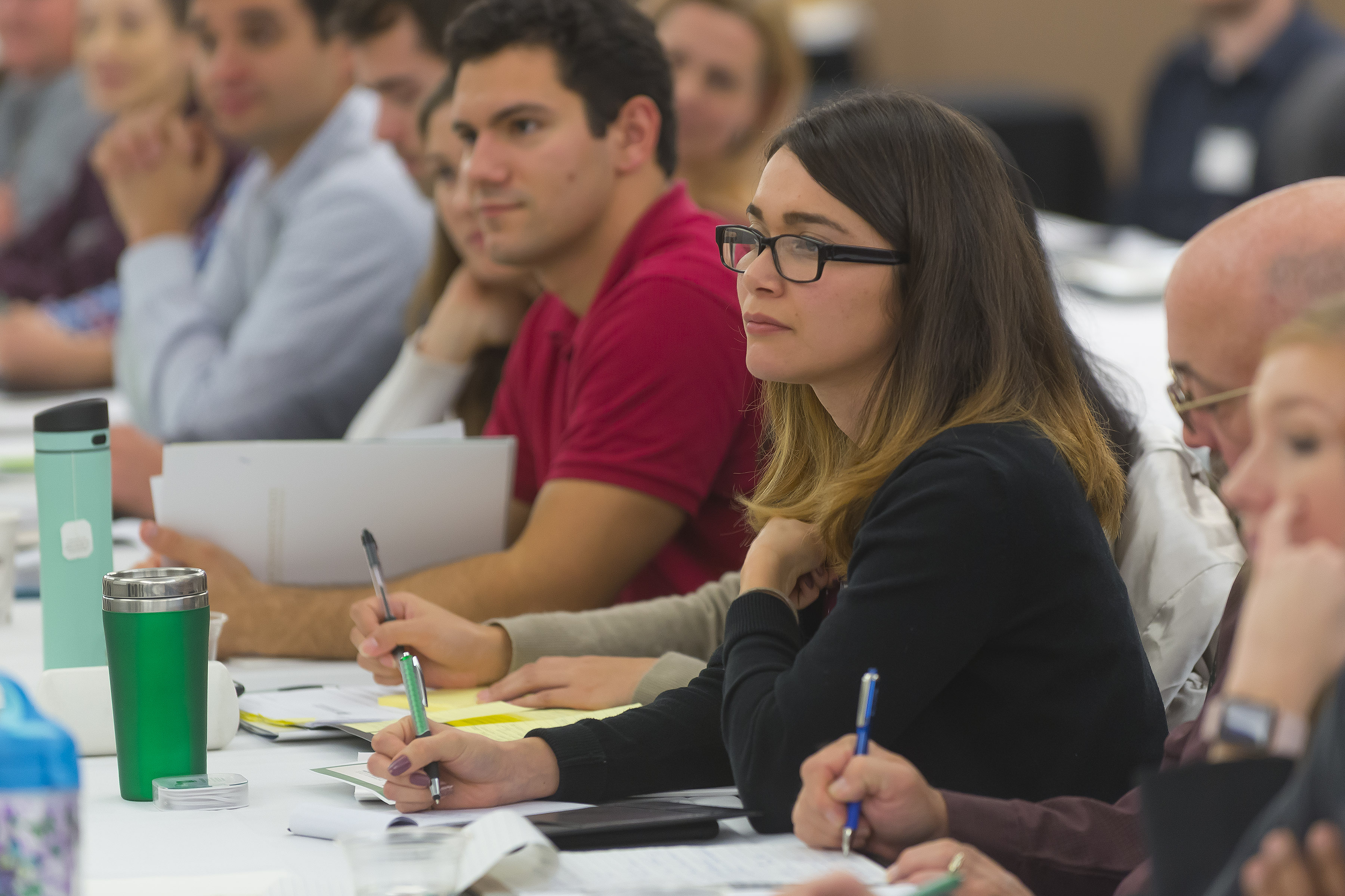 MBA Students at Orientation