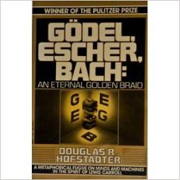 picture of book cover of Godel, Escher, Bach