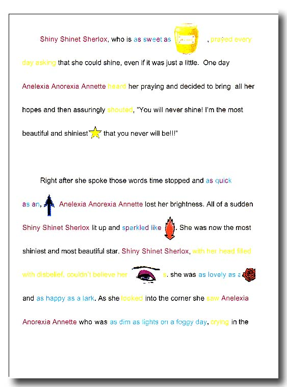 poems with similes and metaphors and alliteration onomatopoeia