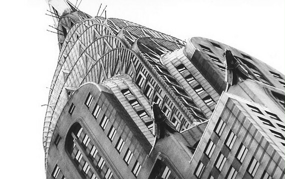 Chrysler Building New York City USA William Van Allen 1930