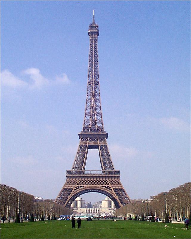 How Tall Is La Tour Eiffel