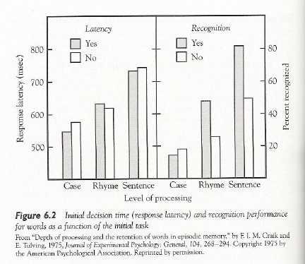 depth of processing model