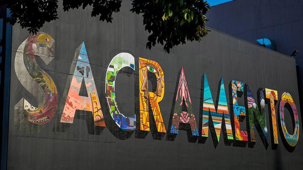 Sacramento Mural