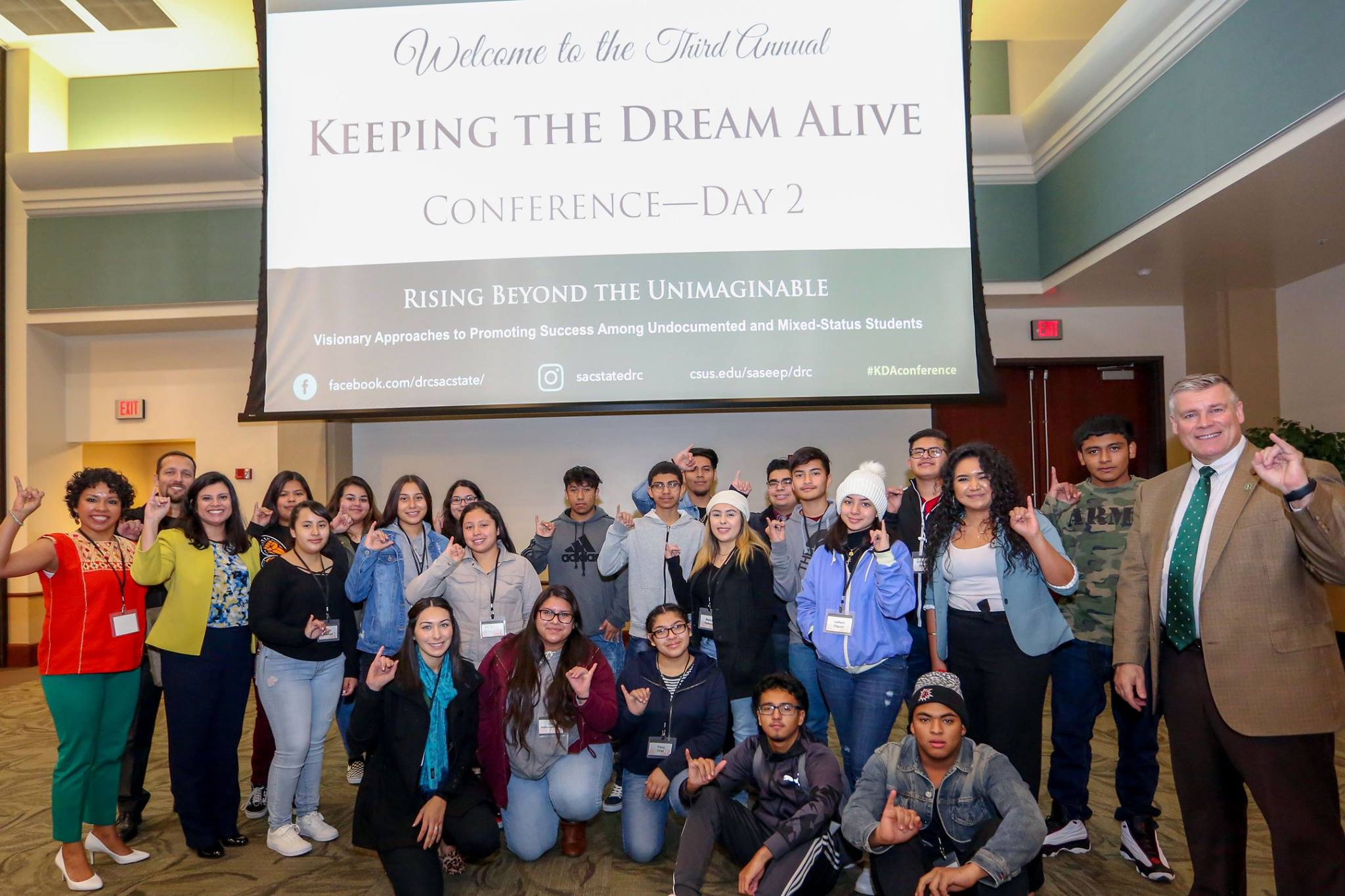 Dreamers convention, though digital, extends its reach