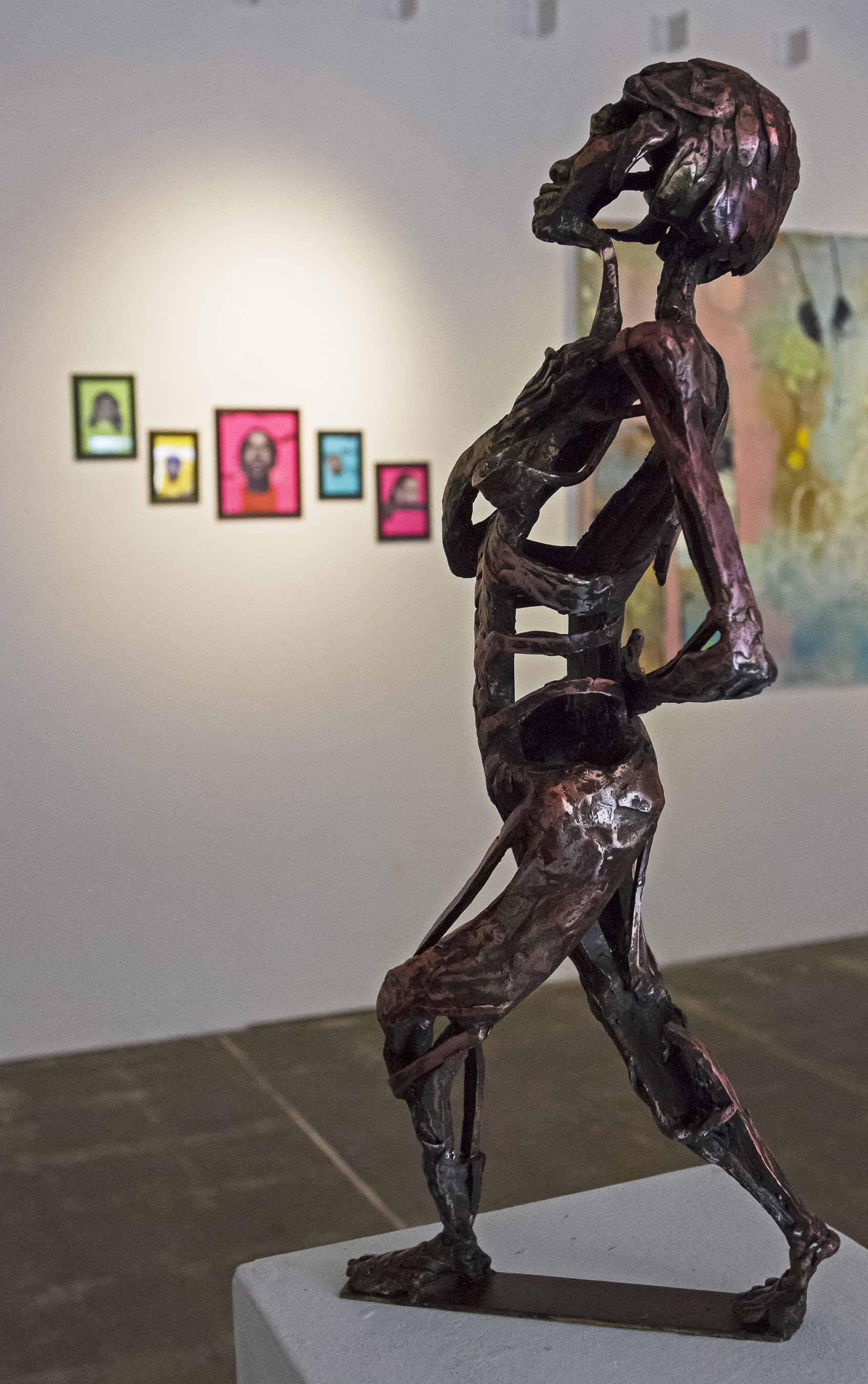 Fall gallery displays at the Else and Witt galleries
