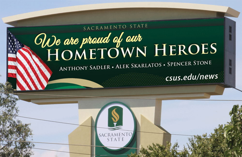 Highway 50 salute to hometown heroes
