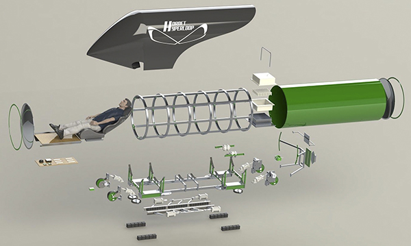 Hyperloop model