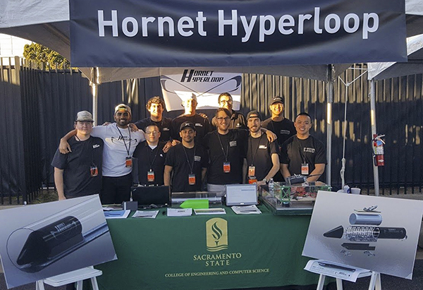Hyperloop team