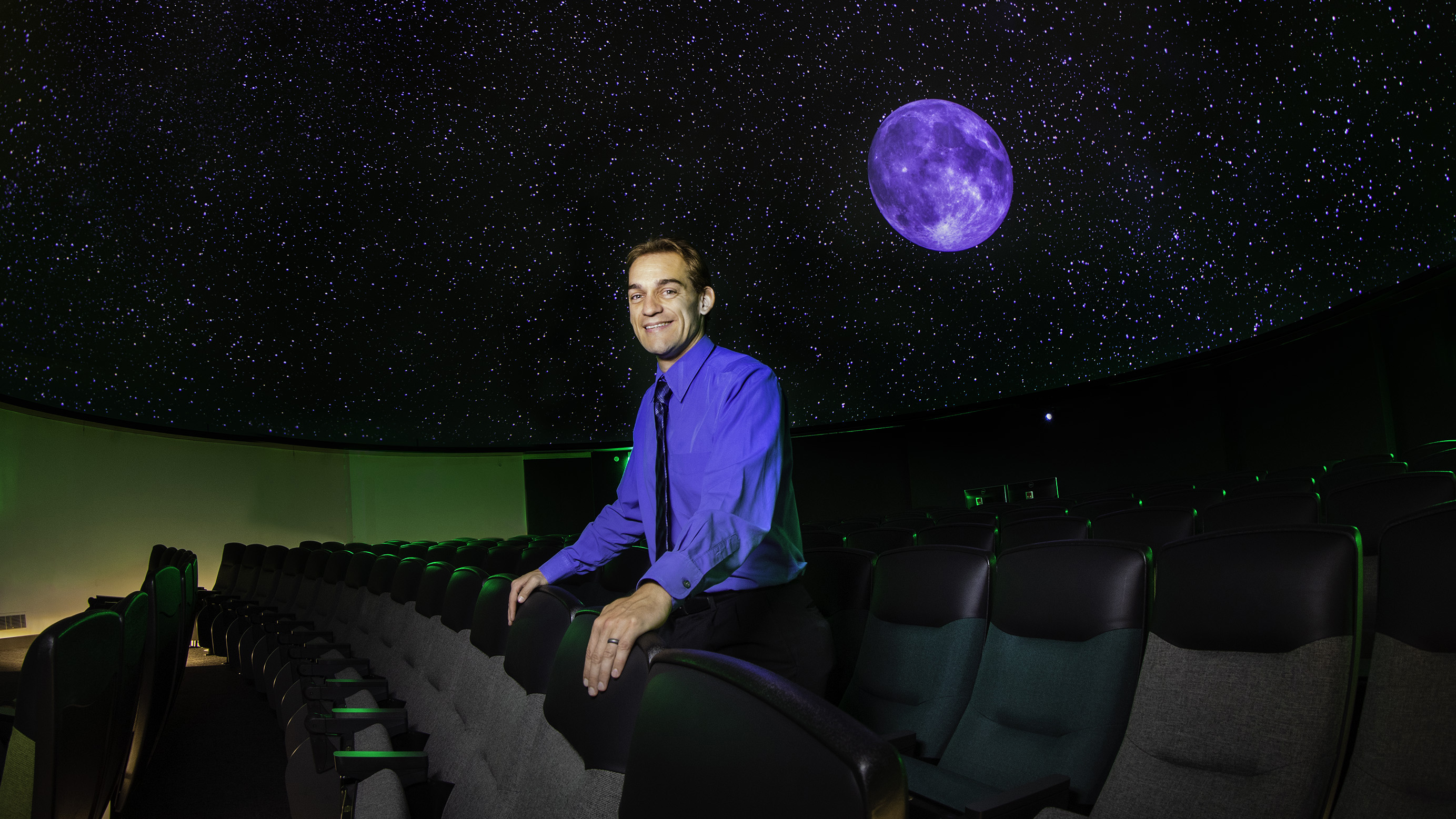 Planetarium offers new windows into space, director says