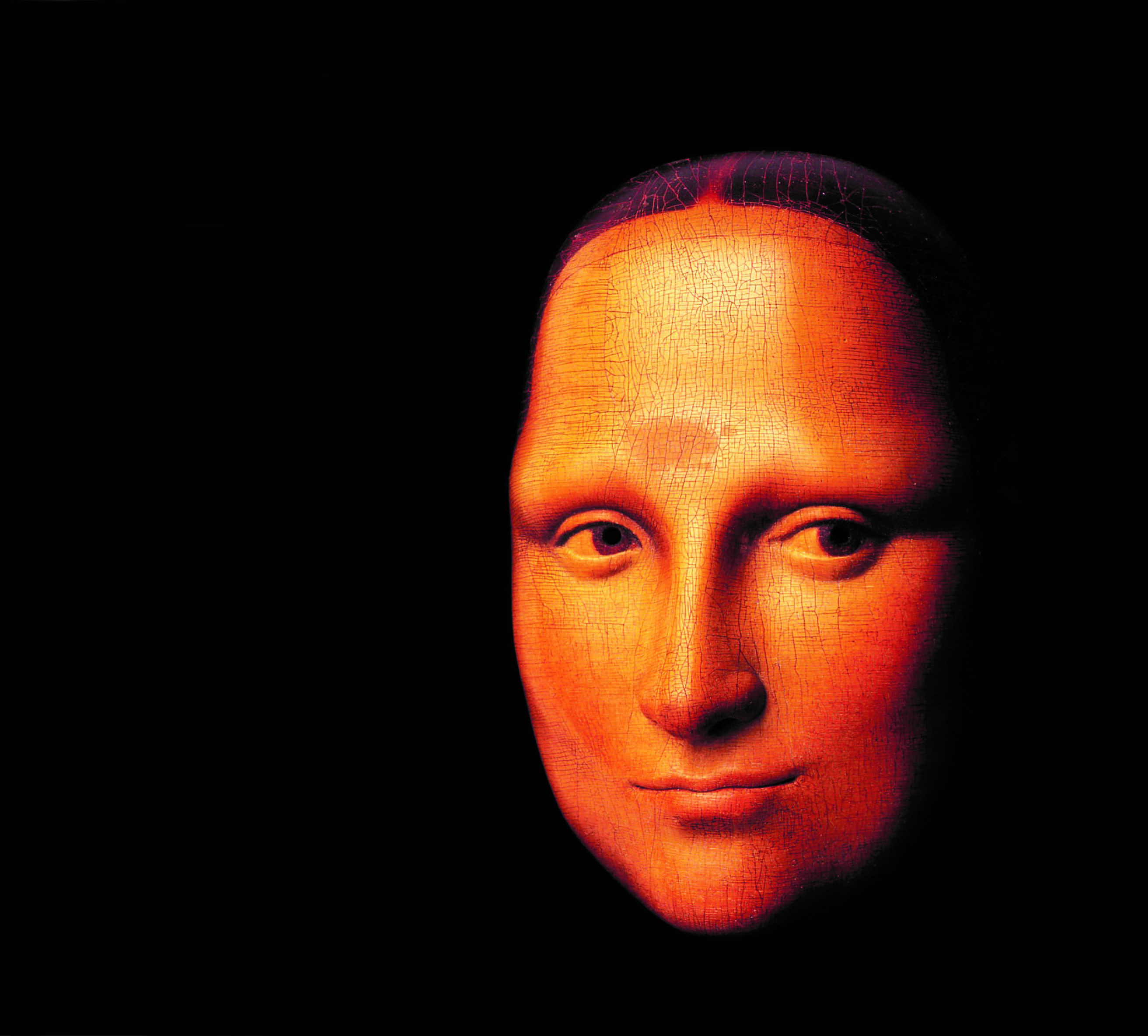 Mona Lisa 3D Mask