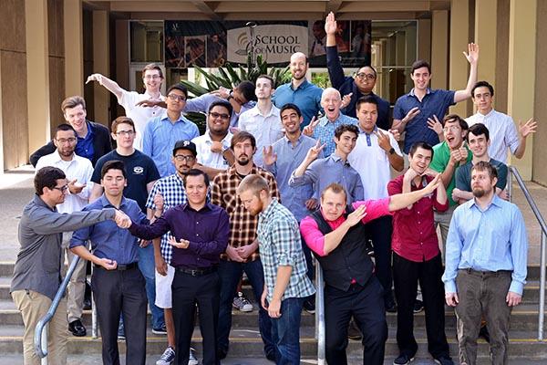 Men's Chorus Fall 2016