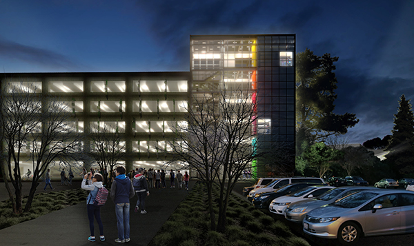 New Parking Structure Construction Starts In The Spring