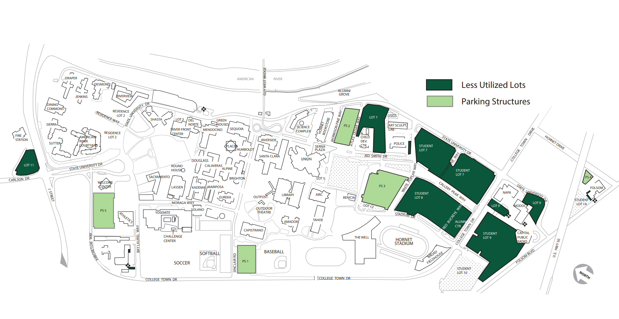 dixie state university campus map University Parking Plentiful As Off Campus Rules Change dixie state university campus map