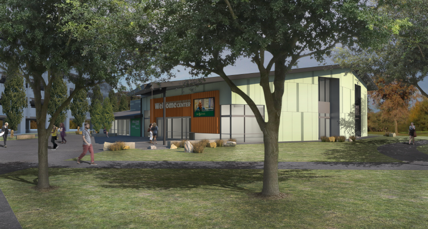 Sac State Calendar Spring 2020 Groundbreaking marks launch of Welcome Center, plaza project