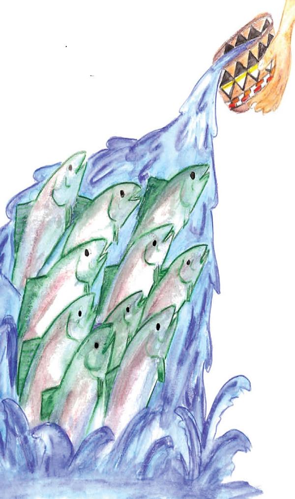 'Dancing the Salmon Home'