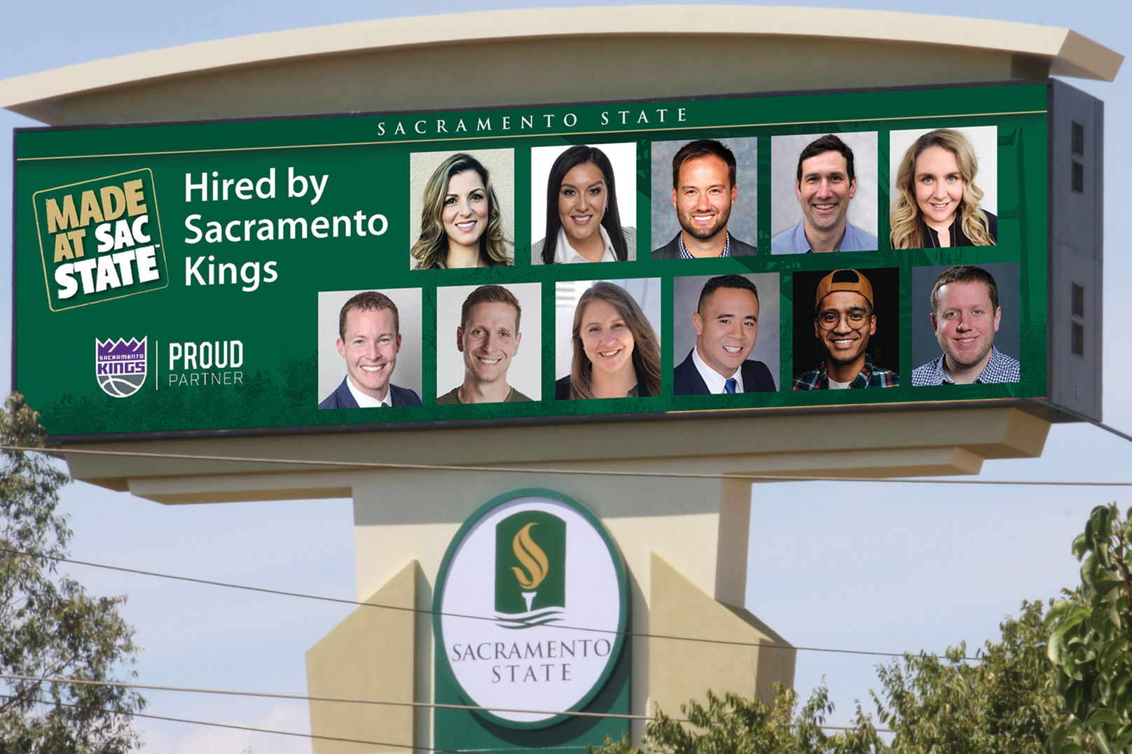 Sacramento State has provided the Sacramento Kings with important members of their corporate team over the years.