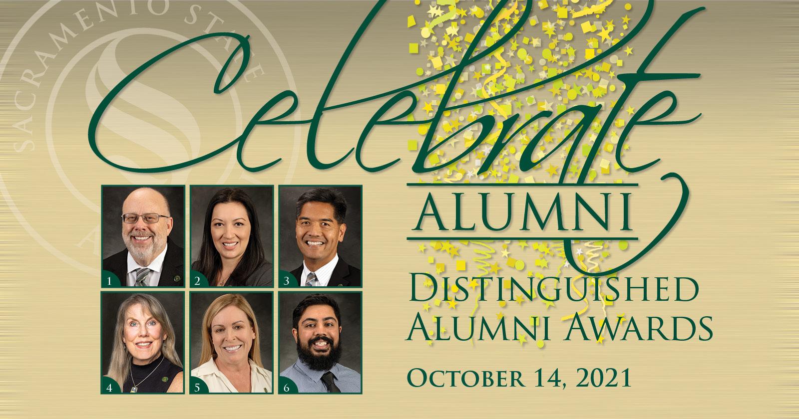 2021 Distinguished Alumni honorees.