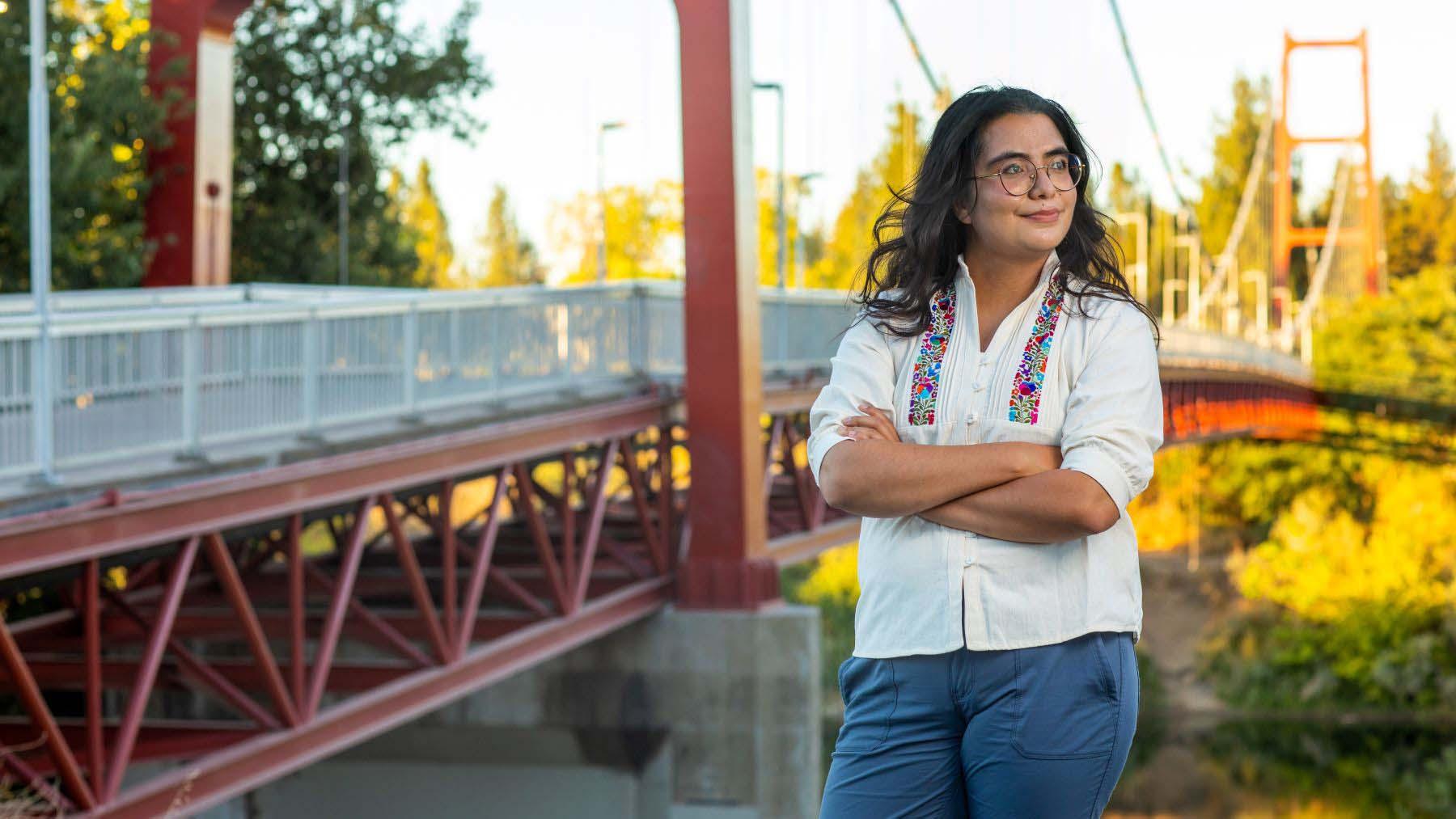 Carla Cruz Medina, 2021 CSU Trustees' Award recipient.
